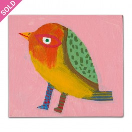 Bird 5 - Small Painting