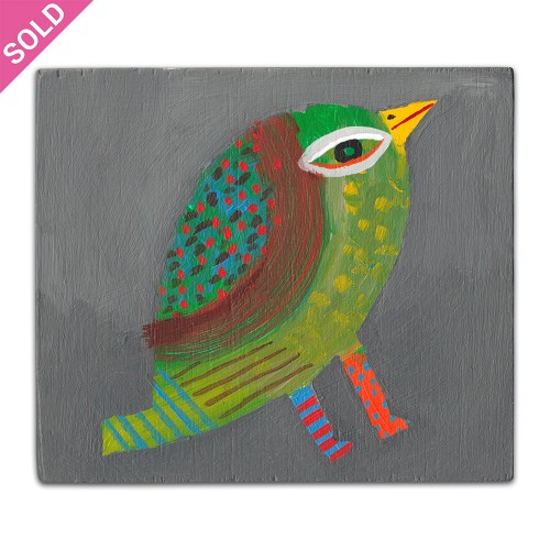 Bird 6 - Small Painting